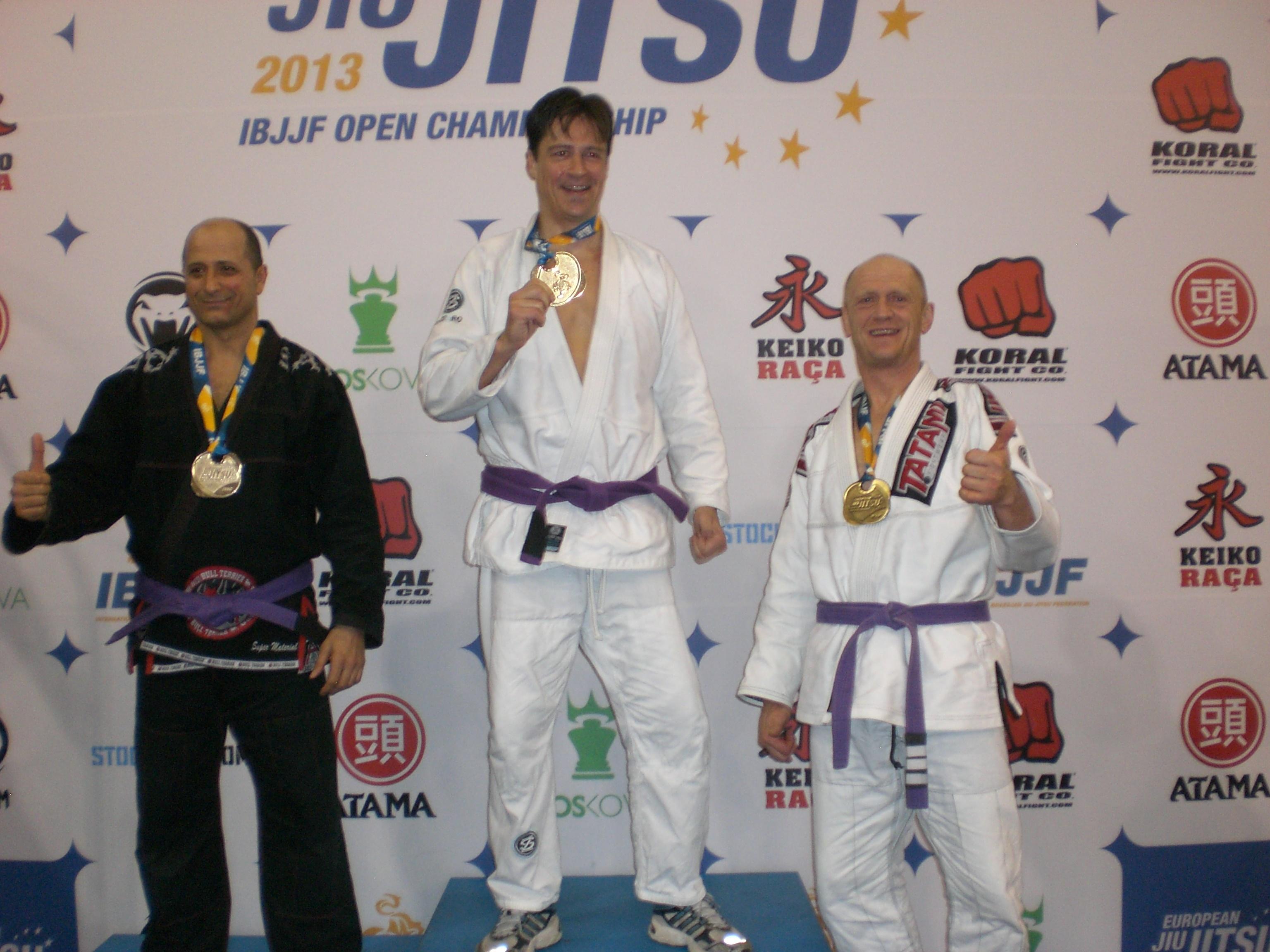 Patrick Baker - Bronze Purple Belt Master 3  Medium Heavy - 2015 Europeans