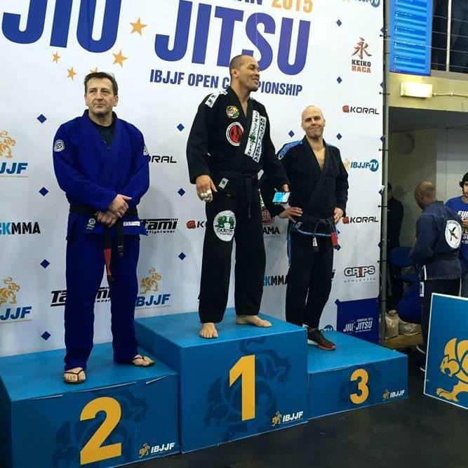 Rob Connor - Silver Black Belt Master 4 Middle Heavy -  2015 Europeans