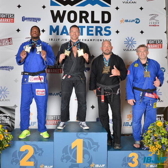 Dickie Martin - Double Gold Black Belt Heavy and Absolute - 2014 World Masters