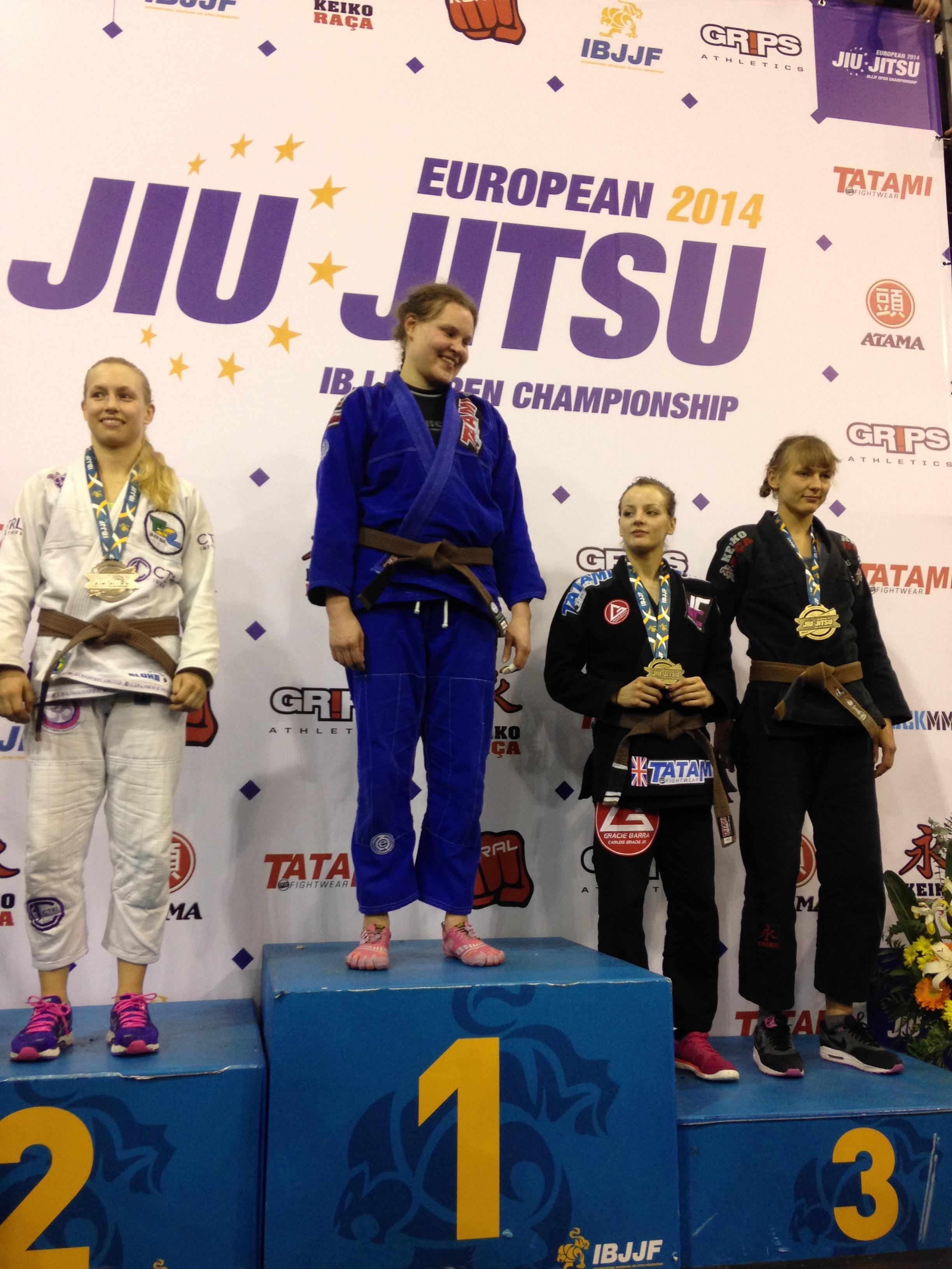 Vanessa English - Bronze Brown Belt Adult Absolute - 2014 Europeans