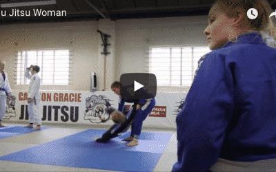 Jiu Jitsu Woman