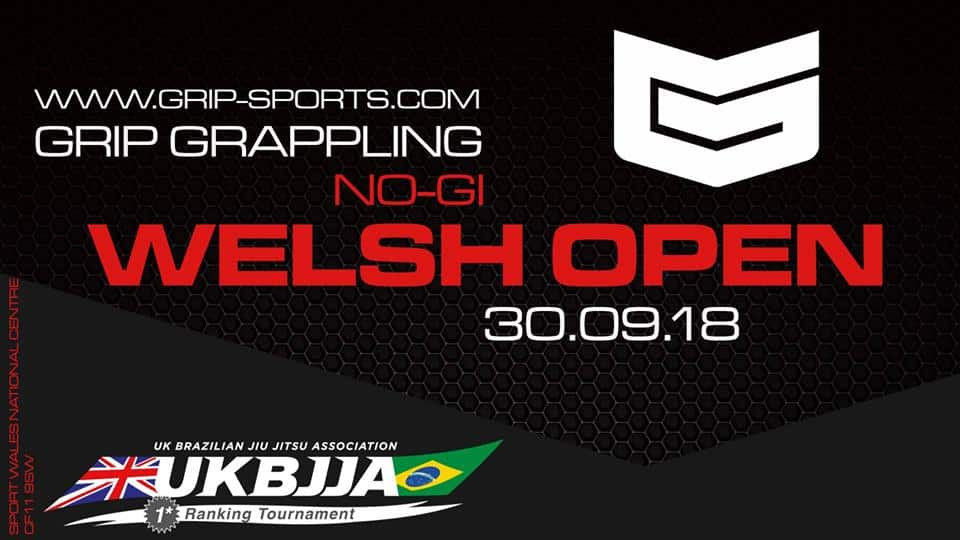 GRIP Grappling Welsh Open No-Gi 2018