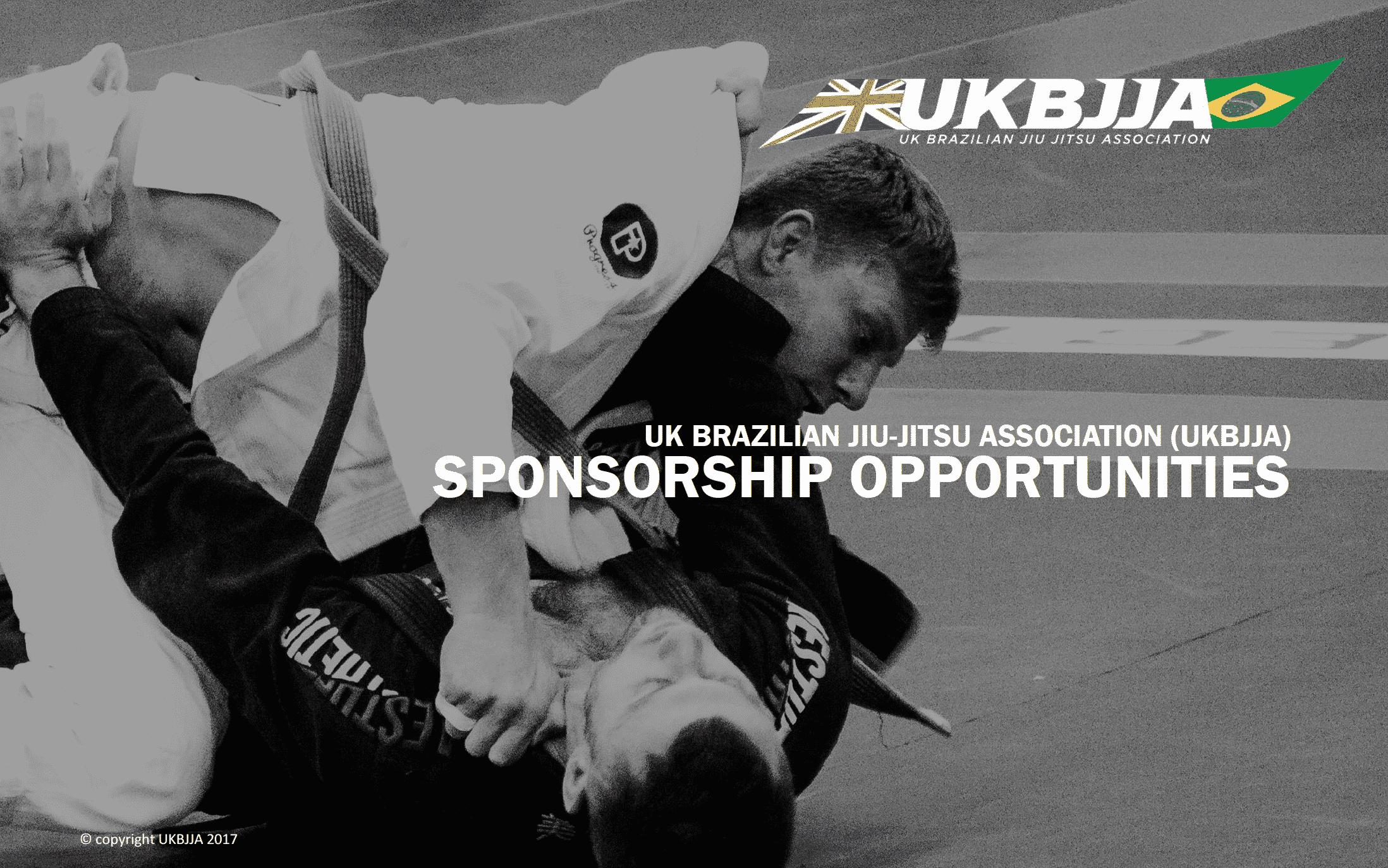 Image of UKBJJA Sponsorship Pack for download