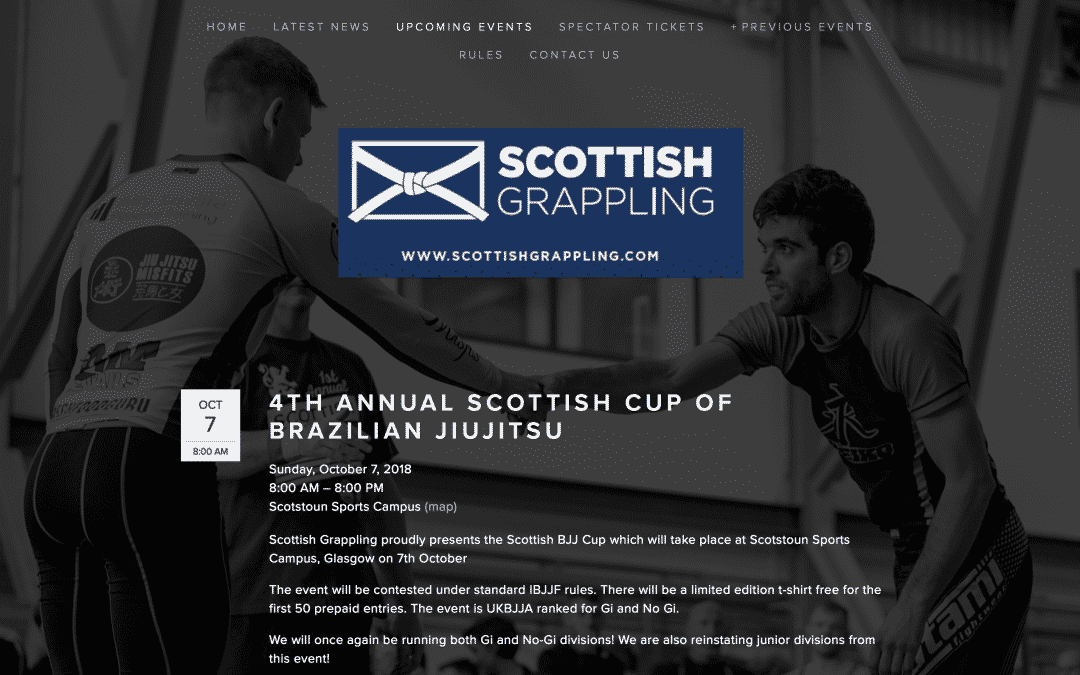4TH ANNUAL SCOTTISH CUP OF BRAZILIAN JIUJITSU