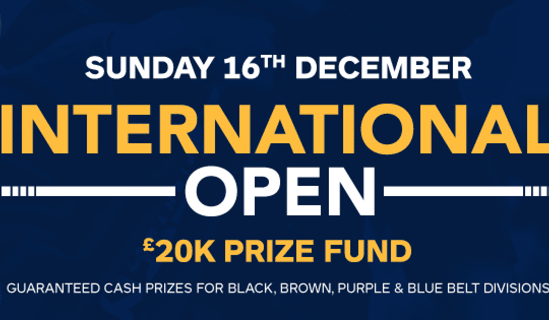 UKBJJA International Open 2018