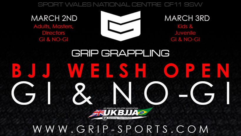 GRIP Grappling BJJ Welsh Open Gi & No-Gi