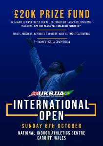 UKBJJA International Open 2019 Brazilian Jiu Jitsu Tournament