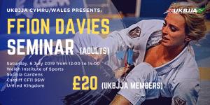 UKBJJA Ffion Davies Seminar 6 July 2019 Cardiff Wales