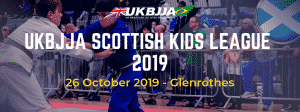 UKBJJA Scottsish Kids League 2019 poster