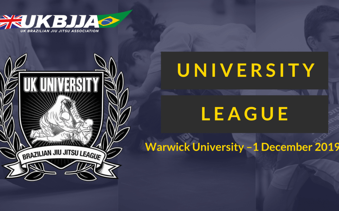 UKBJJA University League December 2019