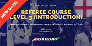 BJJ Referee Course London 15 December 2019