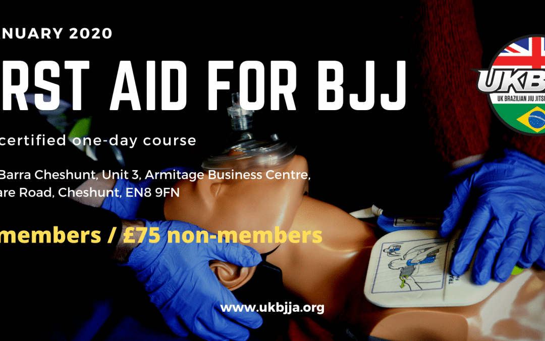 First Aid for BJJ – one day certified course