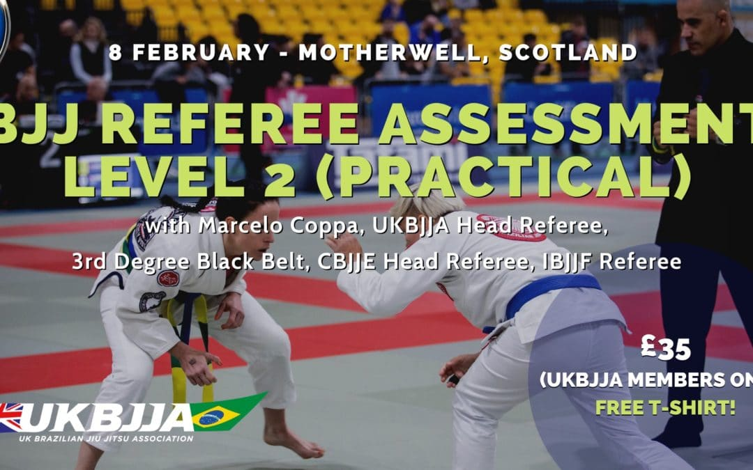 BJJ Referee Assessment – Level 2 (practical) – Scotland