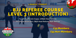 BJJ Referee Course Cardiff Wales 1 March 2020