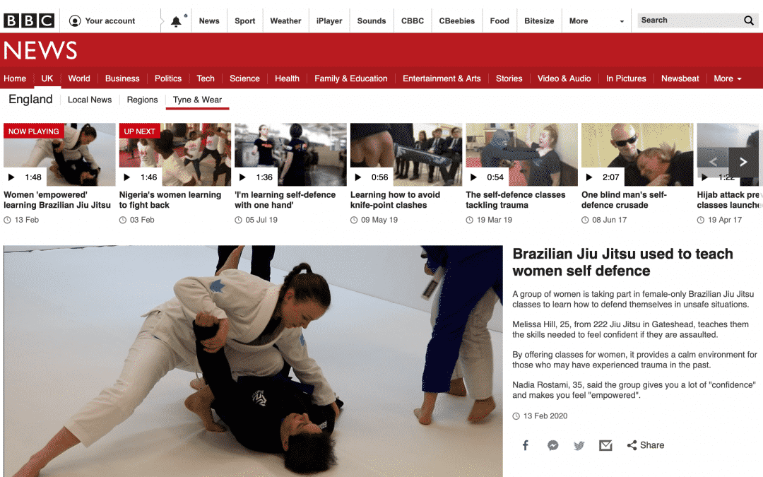 BJJ: empowering women and hitting the mainstream!