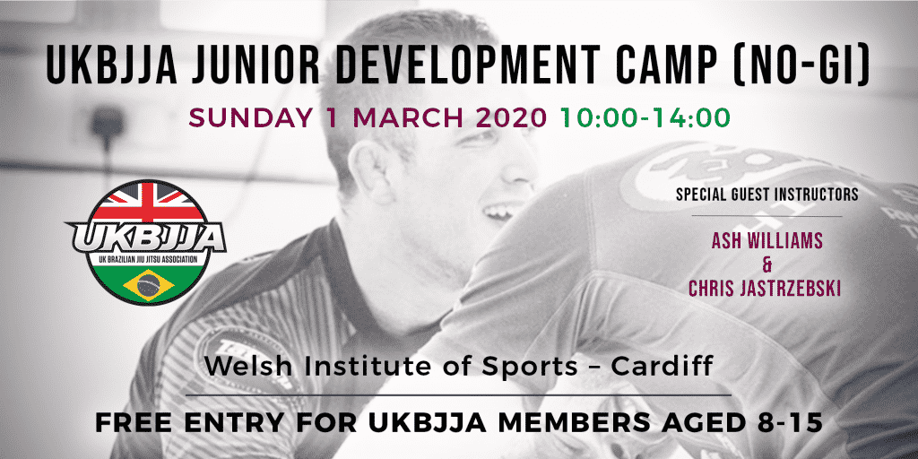 UKBJJA Junior Development Camp Cardiff 1 March 2020