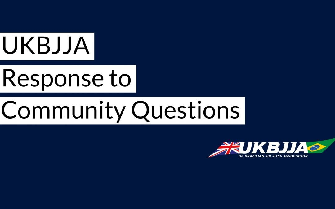 BJJ Community questions answered 24 JULY 2020