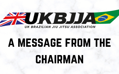 A message from the Chairman regarding return to training