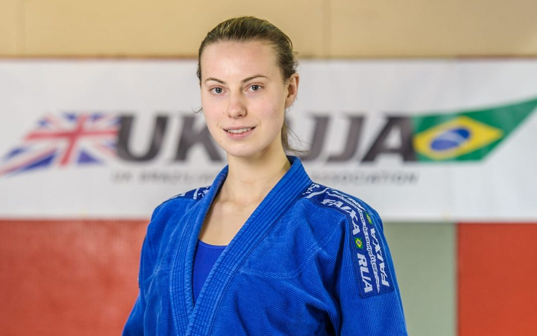 Unstoppable Girl….BJJ White Belt and Student at City University Maria Rybak