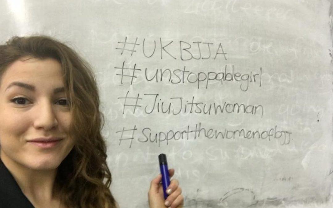 Unstoppable Girl….BJJ White Belt and Chemistry Teacher Marina Mavrou