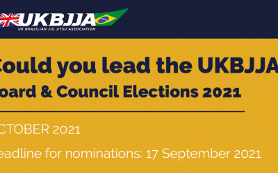 UKBJJA Board & Council Elections 2021 – Call for nominations